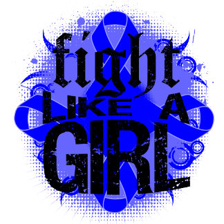 Colon Cancer Fight Like A Girl Rock Ed.
