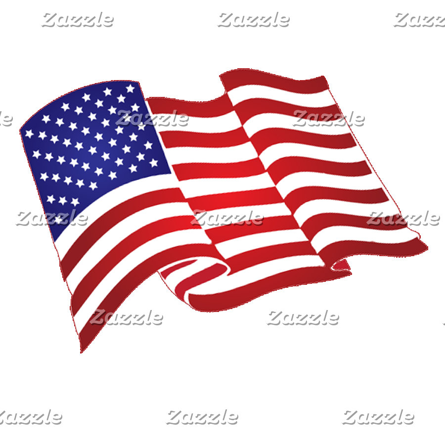 Patriotic and American Flag Stickers