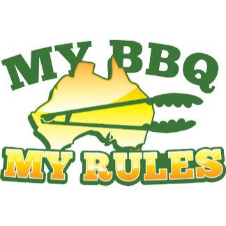 MY BBQ MY RULES aussie design