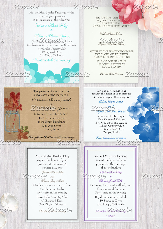 Invitation Styles