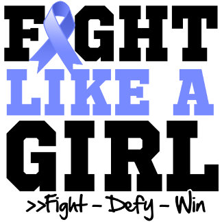 Stomach Cancer Sporty Fight Like a Girl