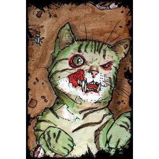 green zombie kitten