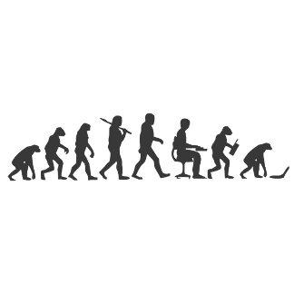 Evolution of Man Laptop