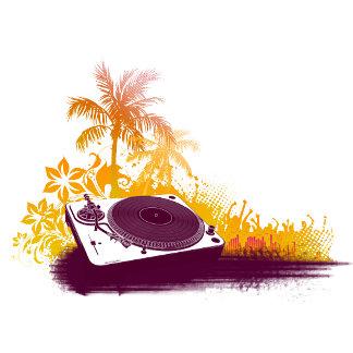DJ Turntable Beach