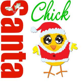Santa Christmas Chick