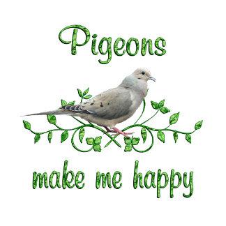 Pigeons Make Me Happy