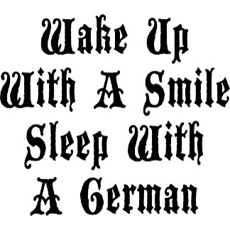 Funny German Sleep With A German T-Shirt Gifts