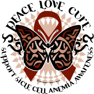 Sickle Cell Anemia Butterfly Tribal