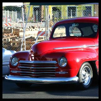 Classic Red Car 4