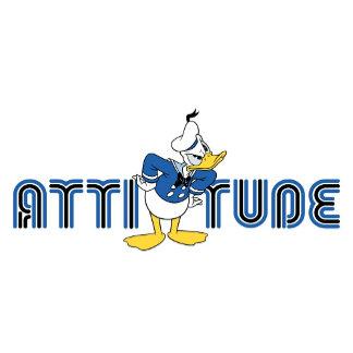 Donald Duck has attitude