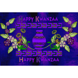 Kwanzaa Vase