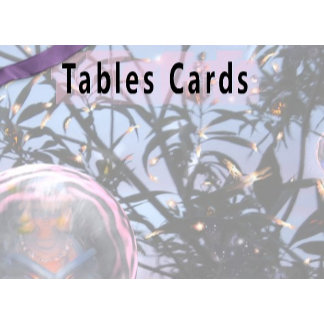 Table cards/Reservation cards