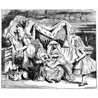 Alice, The Duchess, The Cook & The Cheshire Cat