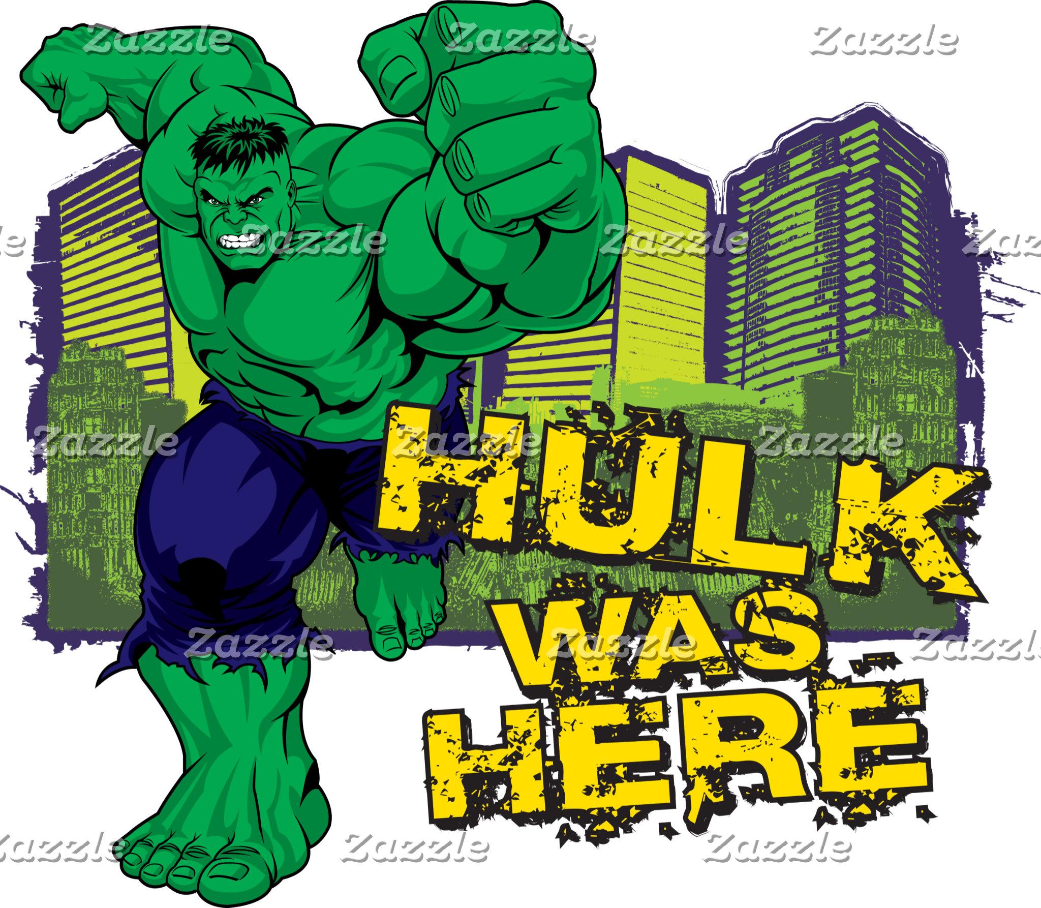 Hulk was Here