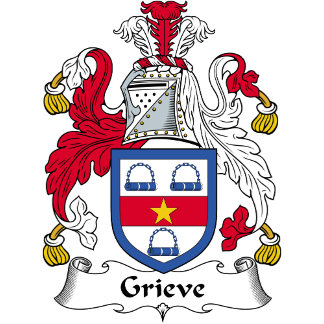 Grieve Family Crest / Coat of Arms