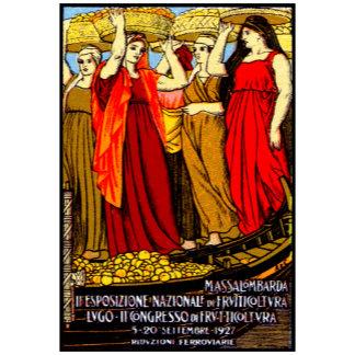 1927 Italian Fruit Growers Poster