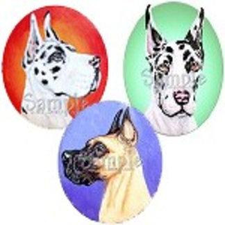 Painted Medallion Series