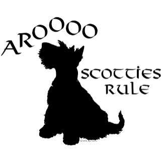 Scotties Rule Silhouette