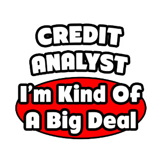 Credit Analyst ... Big Deal