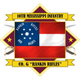 10th Mississippi Infantry -Rankin Rifles