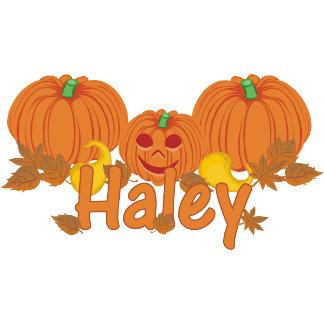 Pumpkin Haley Personalized Halloween