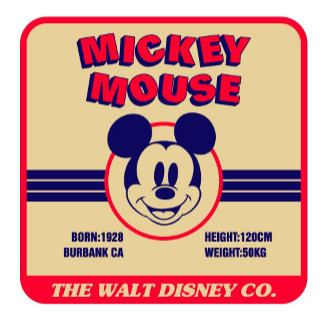 Mickey Mouse's stats