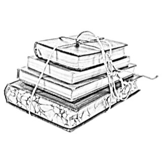 Tied Books Sketch