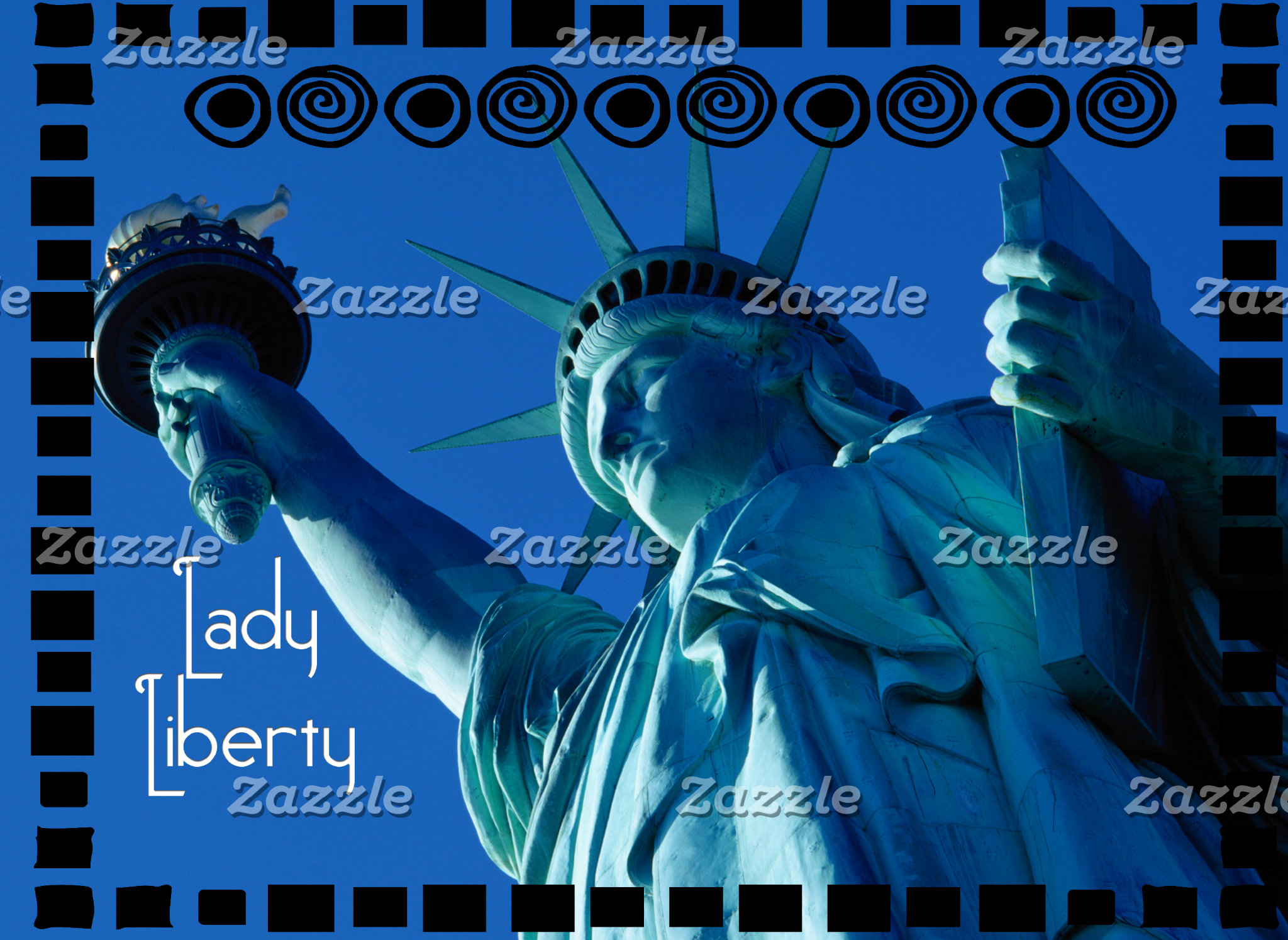 LADY LIBERTY - STATUE OF LIBERTY