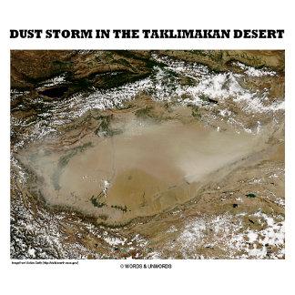 Dust Storm Of The Taklimakan Desert