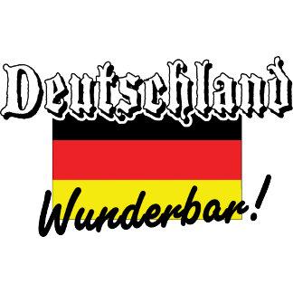 Deutschland Wunderbar T-Shirts Gifts Cards