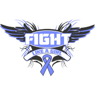 Stomach Cancer Fight Like a Girl Wings.png