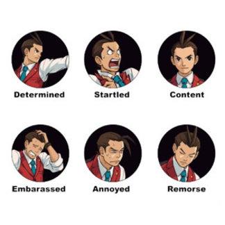 Apollo Justice Emoticons