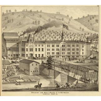 Brewery and malt house of A Reymann