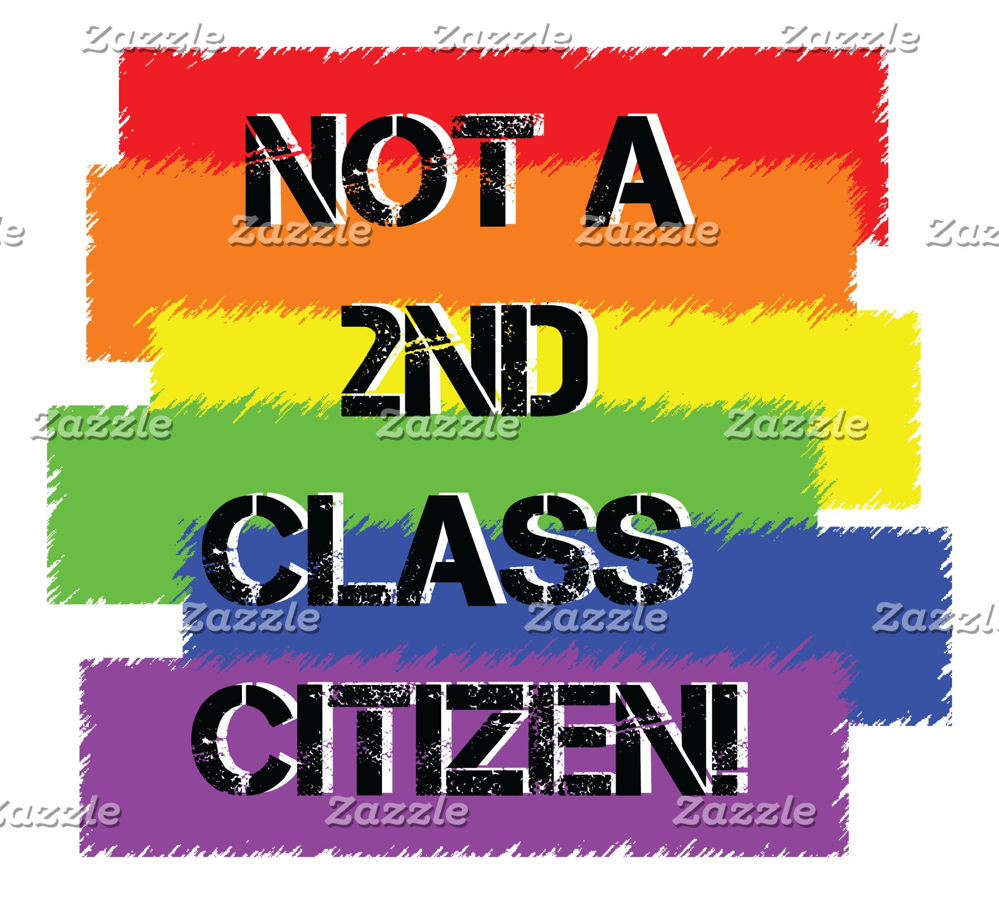 Not a 2nd class citizen