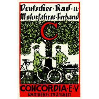 1925 German Bicycle + Motorcycle Club
