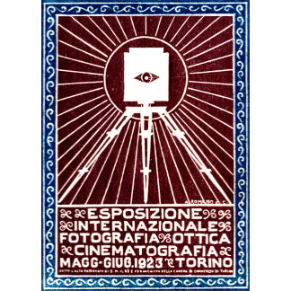 1923 Turin Photography Expo Poster