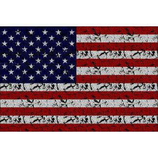 Grunge Distressed American USA Flag