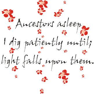Genealogy Haiku 1