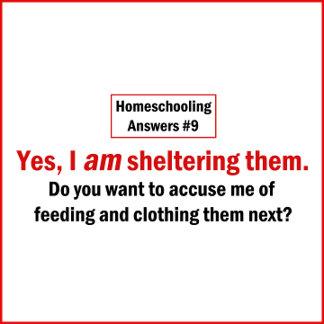 I am Sheltering Them