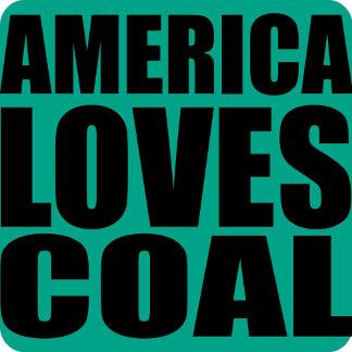 AMERICA LOVES COAL