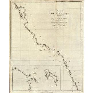 Coast of North West America 6