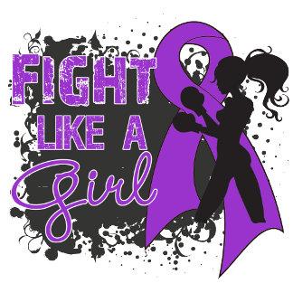 Epilepsy Fight Like A Girl Grunge