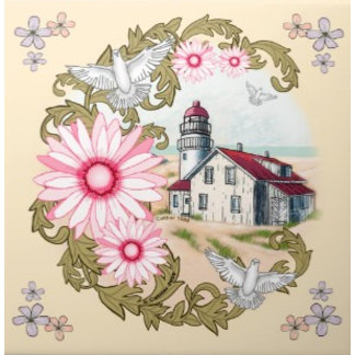 Pink Daisy Lighthouse