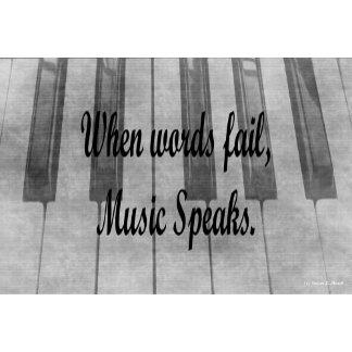 words fail piano music design