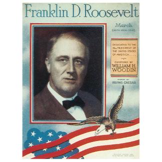 Franklin D. Roosevelt - Vintage Song Sheet Music