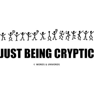 Just Being Cryptic (Crytography Glyphs)