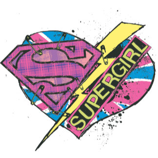 Supergirl Heart and Bolt