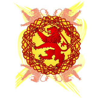 Celtic Scottish Lion