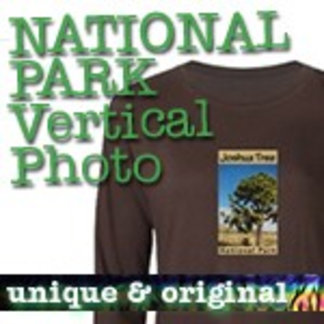 Vertical Photo National Park T-Shirts