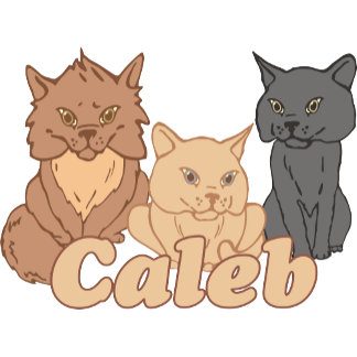 Personalized Caleb Cat Lover